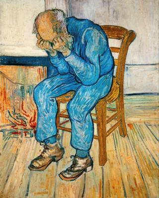Van Gogh-vecchio-sedia