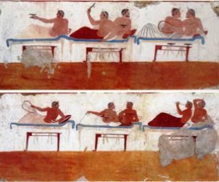 banchetto-Paestum