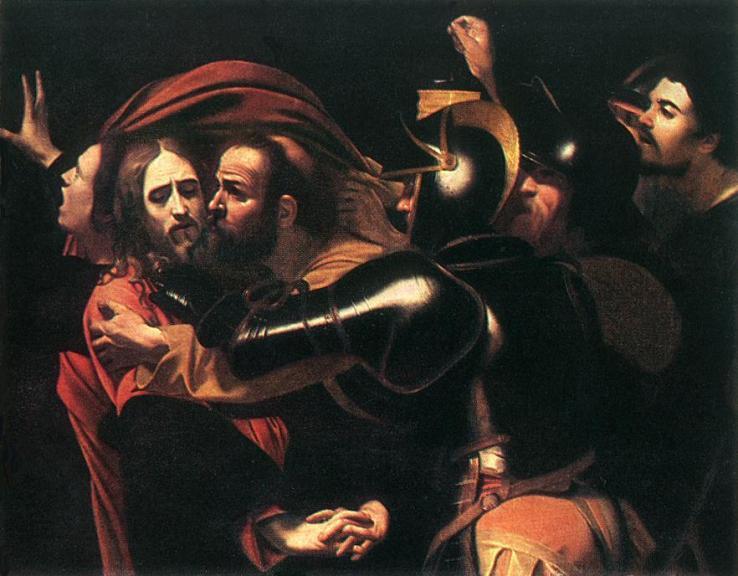 Caravaggio-bacio-Giuda