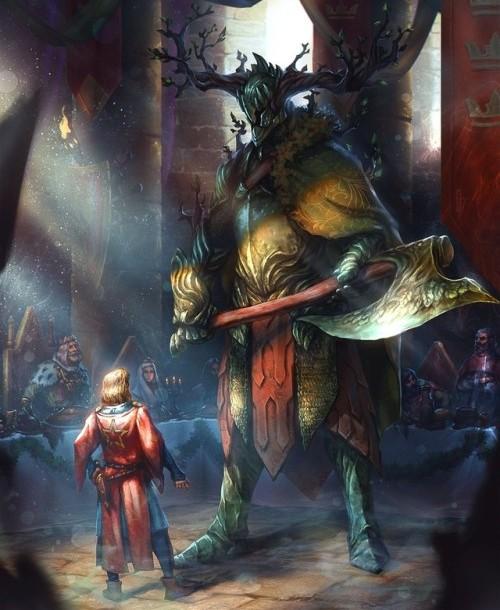 Cavaliere-verde-gigante