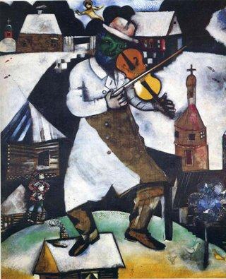 Chagall-violinista