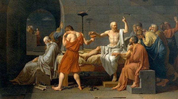 David-morte-Socrate