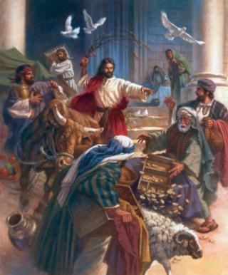 Gesù-mercanti-tempio-colombe