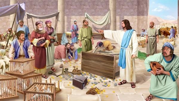 Gesù-mercanti-tempio