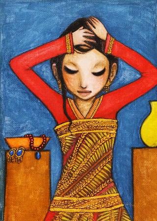 Hainuwele-painting