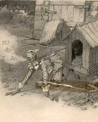 Pinocchio-cane