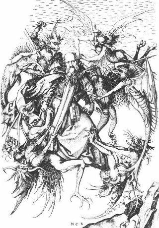 Schongauer-tentazione-sant-Antonio