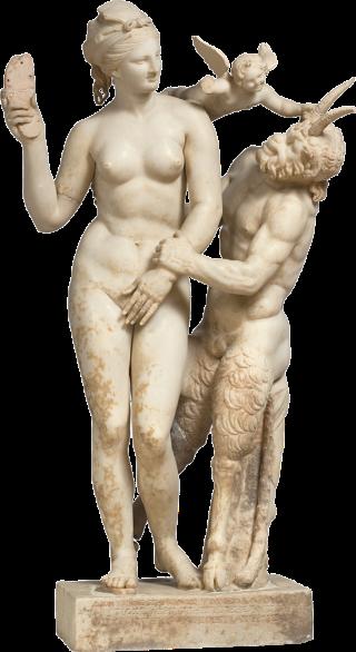 Afrodite-Eros-Pan