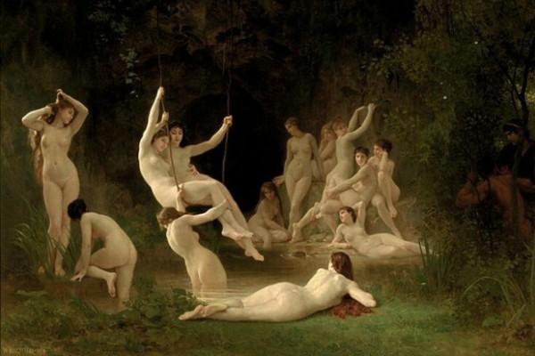 Bouguereau-ninfe-nymphaeum