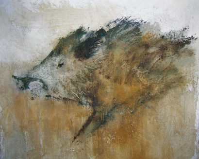 cinghiale-painting