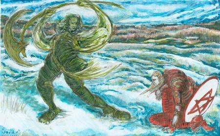 Gawain-green-disegno