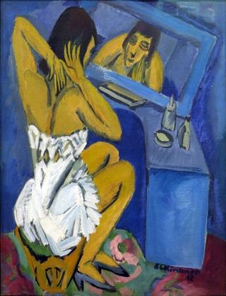Kirchner-donna-specchio