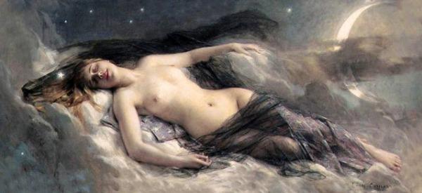 Leon-Francois-Comerre-dea-dormiente