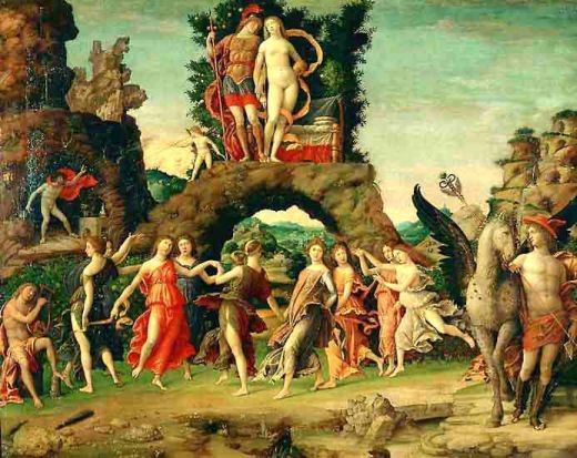 Mantegna-Parnaso