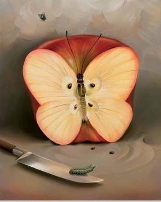 mela-farfalla