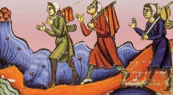 pellegrini-medioevo