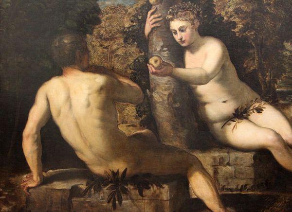 Tintoretto-tentazioni-Adamo-Eva