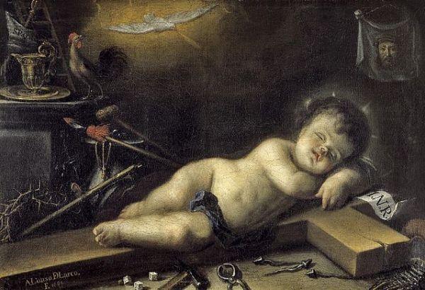 Alonso-del-Arco-Niño-Dios-dormido-sobre-la-cruz