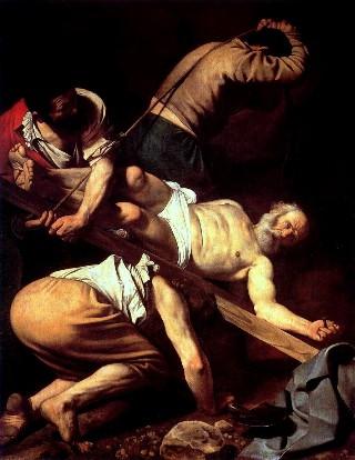 Caravaggio-crocifissione-Pietro