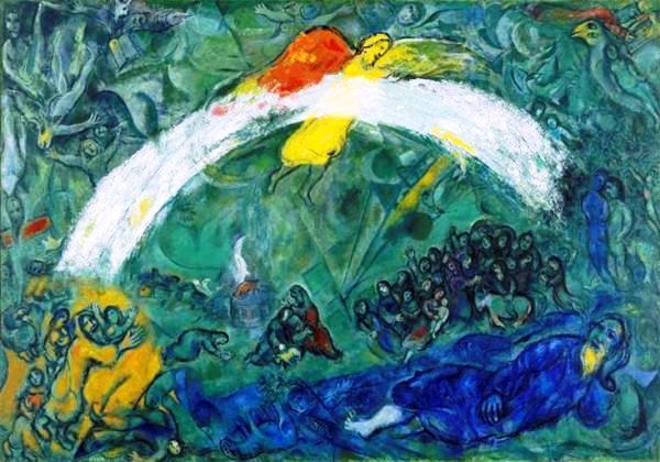 Chagall-Noè-arcobaleno