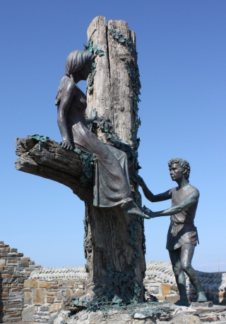 Diarmaid-Grainne-statua