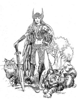 Freyja-gatti-disegno