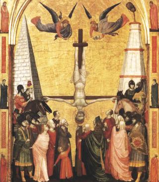 Giotto-crocifissione-Pietro