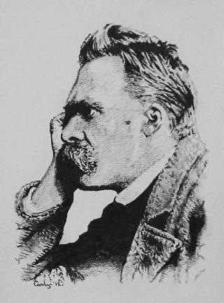 Nietzsche-pastel-profilo