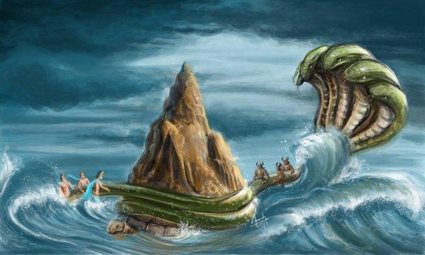 Oceano-Samudramanthana