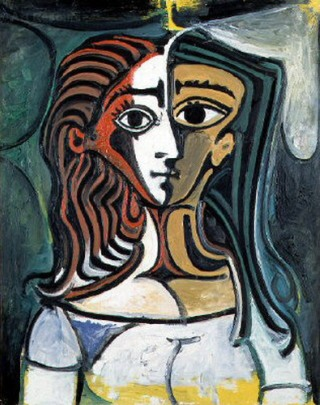 Picasso-busto-donna
