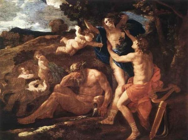 Poussin-Apollo-Dafne