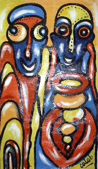 african-painting-duo