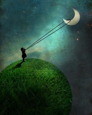 bambina-luna