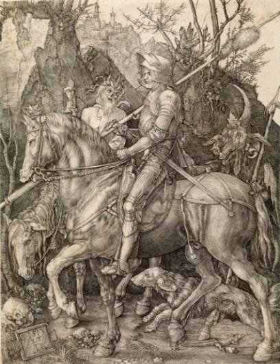 Dürer-ritter-tod-teufel