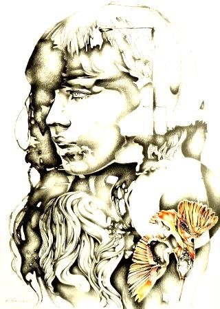 donna-volto-paint