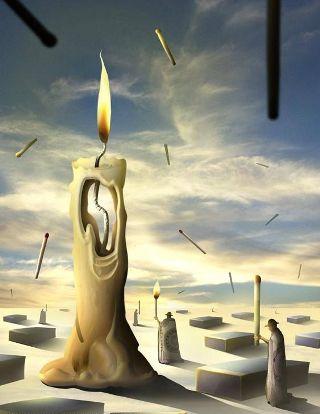 surreal-candela