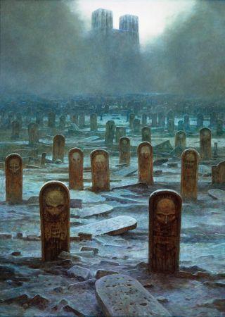 surreal-cimitero
