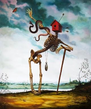 surreal-scheletro-casa