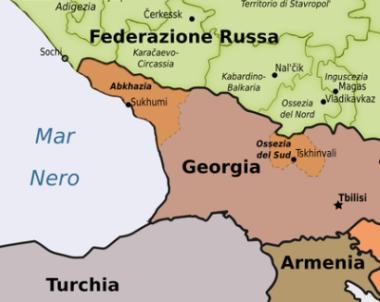 Abkhazia-map