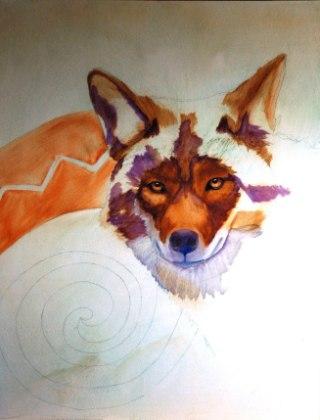coyote-painti