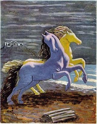 De-chirico-cavalli-spiaggia