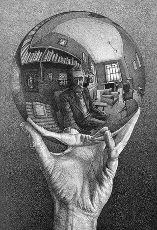 Escher-riflesso-sfera