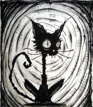 gatto-nero-horror-disegno