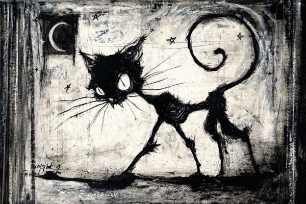 gatto-nero-luna