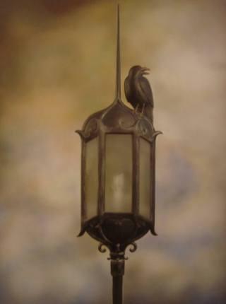 surreal-corvo-lampione