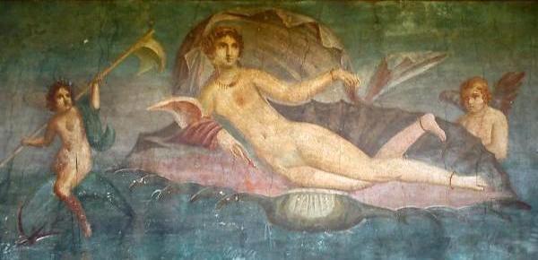 Venere-conchiglia-Pompei