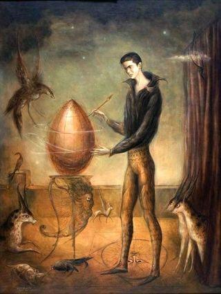 Carrington-pittore