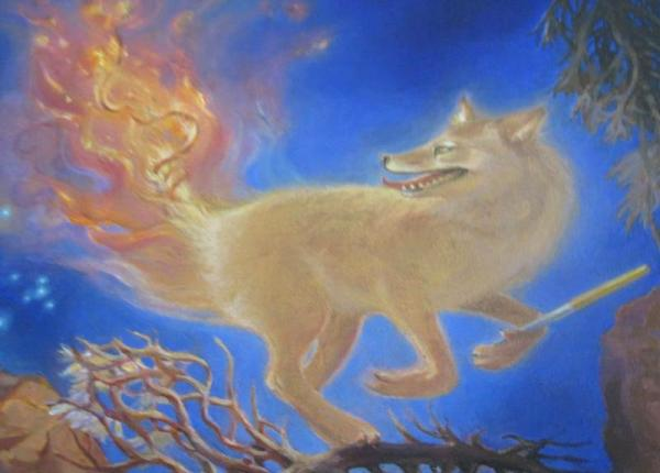 Coyote-fuoco