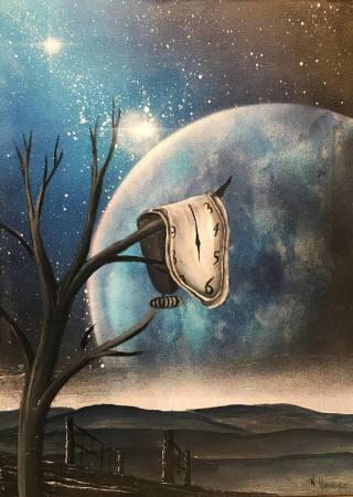 Dalì-albero-orologio
