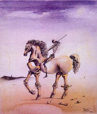 Dalì-don-Chisciotte-cavallo